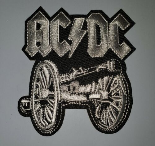 """AC/DC CLASSIC ROCK LEDGENS EMBROIDERED IRON ON PATCHES 3.25"""" X 3.75"""""""