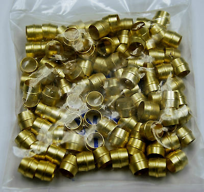 Brass Fittings Air Brake Sleeve Tube Od 14 Quantity 100