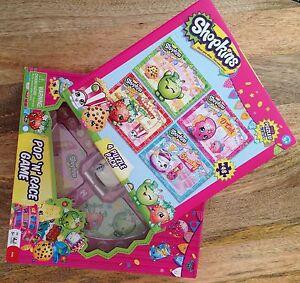 Shopkins Pop 'N' Race game plus 4 Puzzle Pack. Ormond Glen Eira Area Preview
