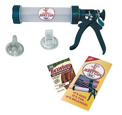 Beef Jerky Shooter Kit Gun Spice Seasoning Food Dehydrator Accessories - Jerky Kit Food