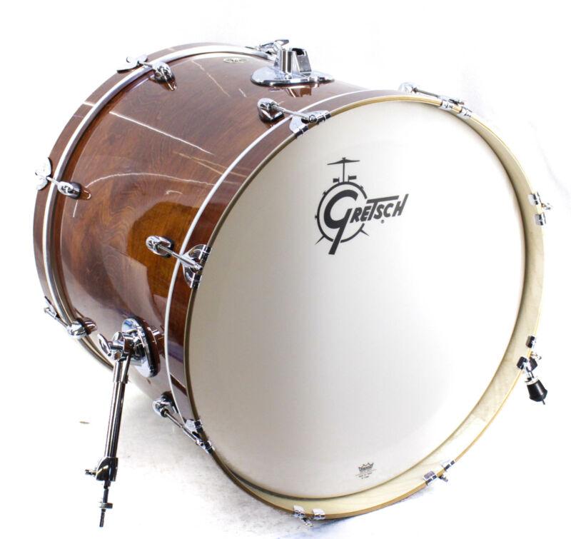 "Gretsch Drums Catalina Maple Shell 22 x  18 "" Bass Drum Walnut Glaze"