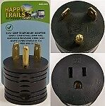 REVERSE-Electrical-ADAPTER-30Amp-Male-to-15Amp-Female-RV-Motorhome-Camper