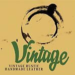 Vintage Handmade Leather