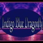 Indigo Blue Dragonfly