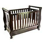 CHEAP SLEIGH BABY COT AS NEW WITH BRAND NEW INNER SPRING MATTRESS Rochedale South Brisbane South East Preview