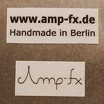 Amp-fx Pedals // Handmade in Berlin