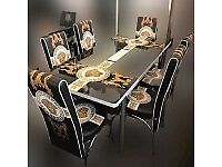 😮 BRAND NEW TURKISH DESIGN DINING TABLE WITH 6 CHAIRS - !!ORDER NOW!!😮