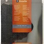 XtremeMac ThinFolio Protective Convertible Folio For iPad 2/3/4 - Black Carbon