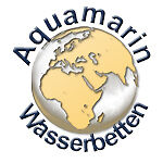 Aquamarin-Wasserbetten