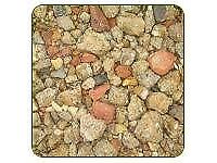 Crushed brick hardcore bulk loads 10 ton