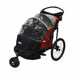 double bike trailer/ jogging stoller for 2 kids or just 1 instep