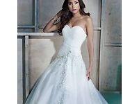 NEW Kenneth Winston Ella Rosa wedding dress size 8 ivory