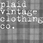 Plaid Vintage Clothing