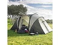 4 man person Vis–à–Vis 2 room family tent