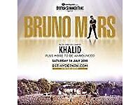 Bruno Mars Summer Time Hyde Park ticket - 14th July