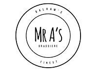 We are looking for an EXPERIENCED BREAKFAST CHEF to join the newly named Mr A's....HOB!!