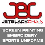 JetBlackChain Print and Apparel