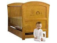 Olive and Henri cot bed