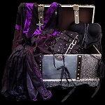 Dunkeltruhe - schwarze Outfits&more