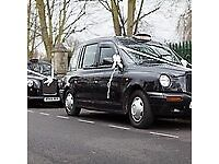 TRADITIONAL/CLASSIC LONDON BLACK CABS, ALSO CLASSIC JAGUAR AVAILABLE FOR HIRE! CLASSIC WEDDING CARS!