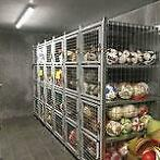 Ballen locker met 4 units