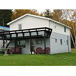 Houses/Workshop for sale on waterfront property
