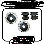 brand new rotors and pads