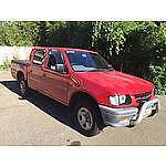 1998 Holden Rodeo 5 speed 3.2L Manual Dual Cab Ute Homebush West Strathfield Area Preview