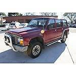 4/1996 Nissan Patrol RX (4x4) 4d Wagon Red 3.0 Fyshwick South Canberra Preview