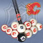 NHL Calgary Flames Pool Balls at JJ Sports