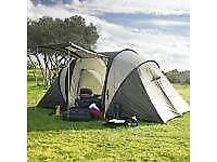 4 man person Vis–à–Vis 2 room family tent