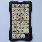 Sliding Letter/Word Puzzle, Antique Toy/Game