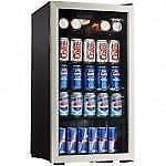 Danby 120 Can Beverage Center with glass door.  SUPER SALE  $ 119.00  NO TAX.