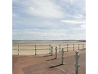 Fully-furnished beachside apartment, Portobello. One double bedroom, lots of storage space