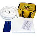Oil only spill kit in cube bag