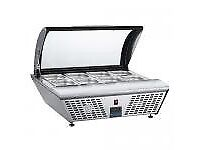 GL178 Polar Refrigerated Countertop Servery With Chopping Board