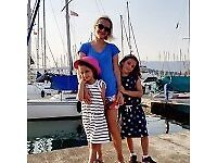 Happy family seeking after school nanny