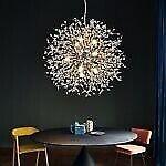 firework-style chandelier light