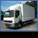 daf 45 - 7.5t hgv, box lorry, horsebox