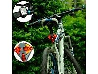 wireless remote usb rechargeable led directional bike tail light