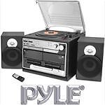 NEW PYLE CLASSIC RECORD PLAYER TURNTABLE