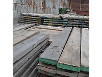SALE Ex Scaffolding Boards - Thin boards 3.9m / 13ft long