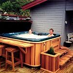 Hot tub for cold weather