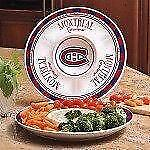Montreal Canadiens Gameday Ceramic Chip & Dip Platter (New) Calgary Alberta Preview