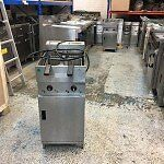 Valentine Electric Fryer Double Tank 2 Basket Fryer Single phase, 1 ph, 1 phase valentine