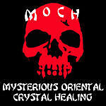 Mysterious Oriental crystal healing