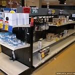 Store supplies (used&new):gondola shelving,mannequins,showcases