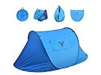 Pop up tents, 2 person, quick release