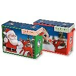 Two-Sided, 9-Piece, Santa and Rudolph Puzzles - New in Box