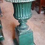 Antique Victorian Urns / Planters x 4